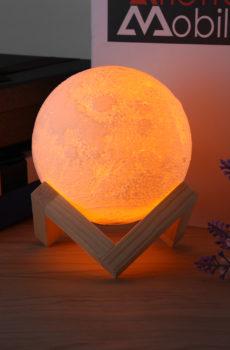 Съемный ночник шар луны