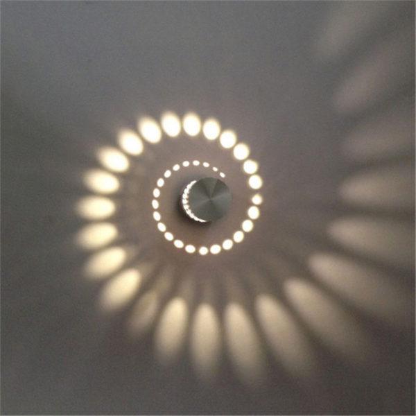 Сберегающий настенный светильник