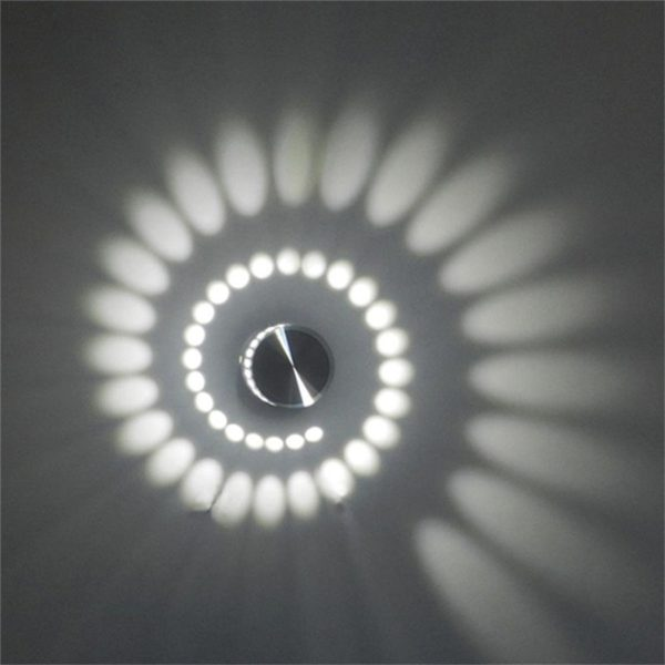Спиральный светильник