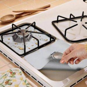 Защитная фольга на плиту