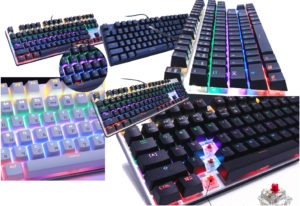 Клавиатура с подсветкой механика