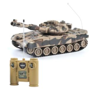 Игрушечный танк на радиоуправлении
