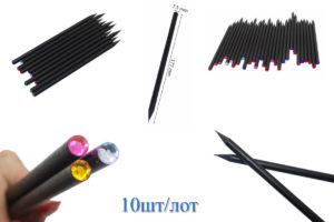 Набор простых карандашей