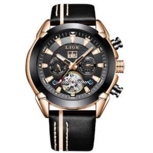 Модные мужские часы Lige