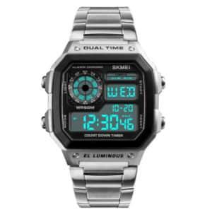 Строгие цифровые часы
