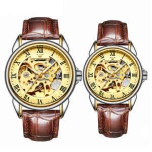 Механические часы для двоих
