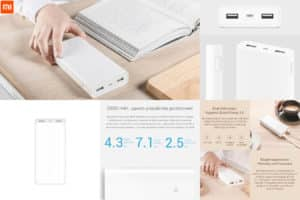 Xiaomi Powerbank алиэкспресс