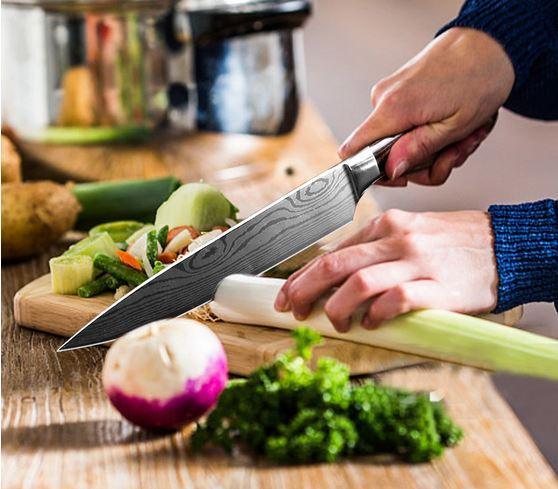 комплект кухонных ножей на алиэкспересс