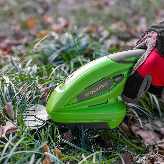 один из лучших аккумуляторных триммеров для травы