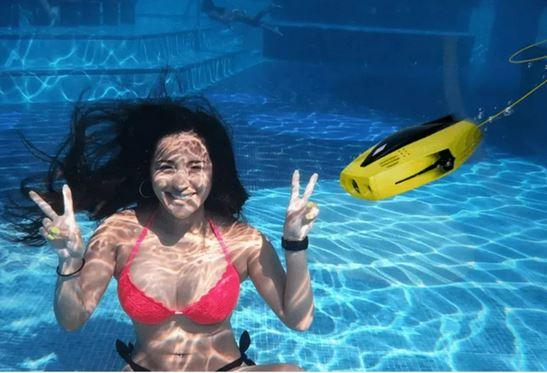 Мини-дрон для подводной рыбалки SHASING DORY