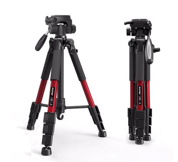Штатив для зеркального фотоаппарата Zomei Z666