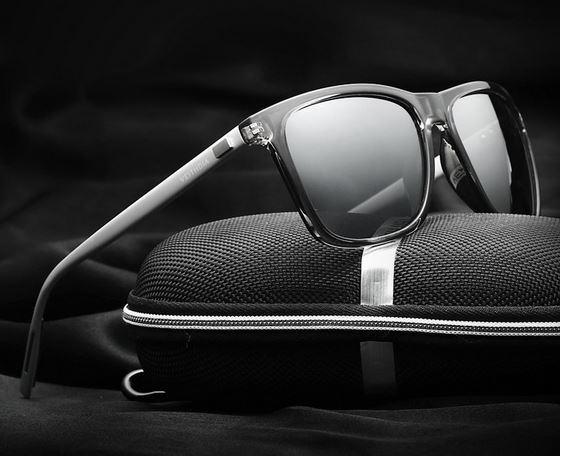 Мужские солнцезащитные очки в ретро стиле VEITHDIA