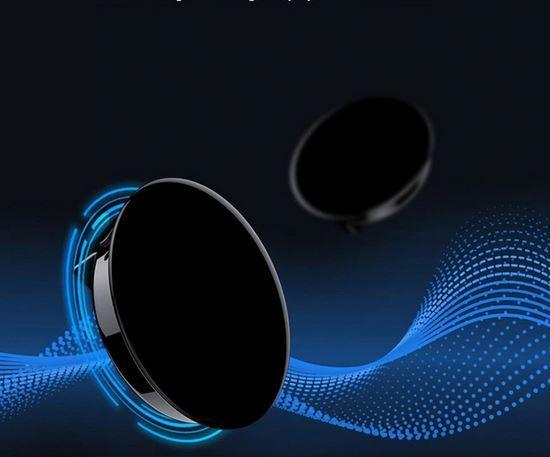 Мини-диктофон круглой формы