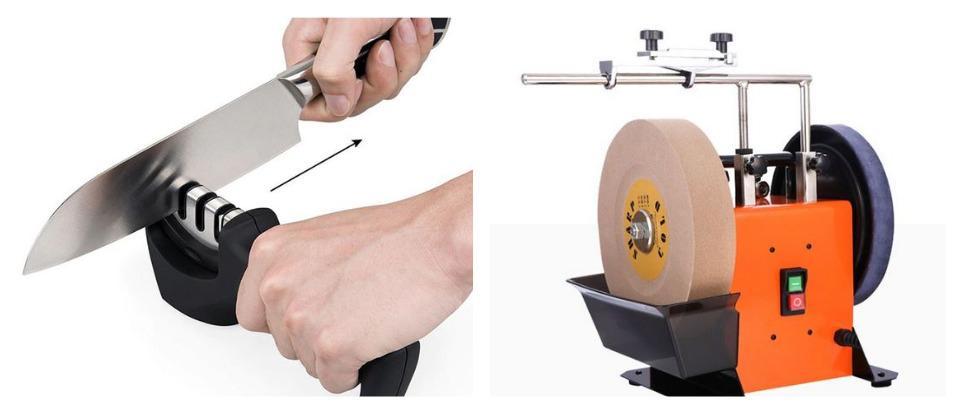 Какой станок для заточки ножей купить на Алиэкспресс