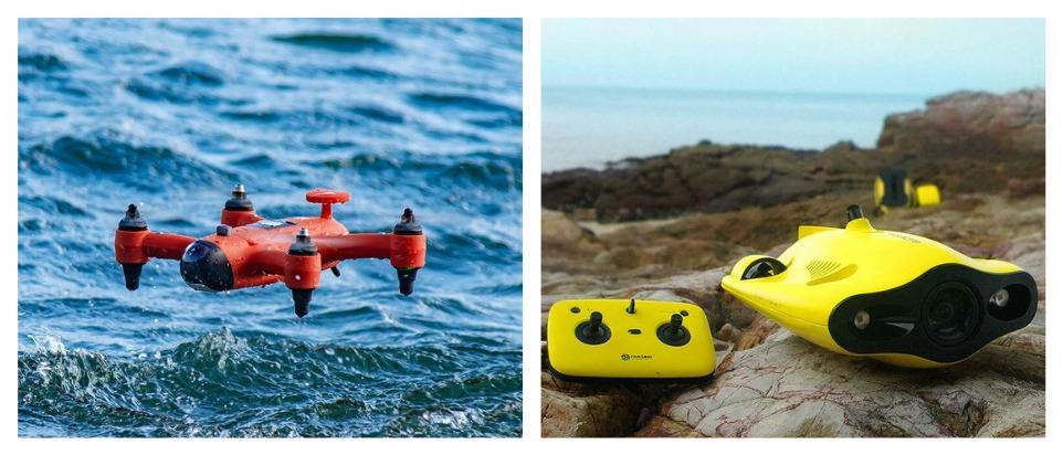 Какой подводный дрон купить на Алиэкспресс