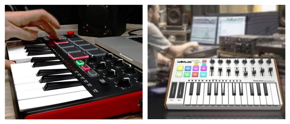 Миди клавиатура с Алиэкспресс