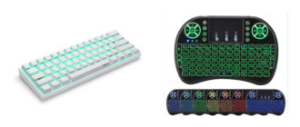 Лучшая беспроводная клавиатура с Алиэкспресс