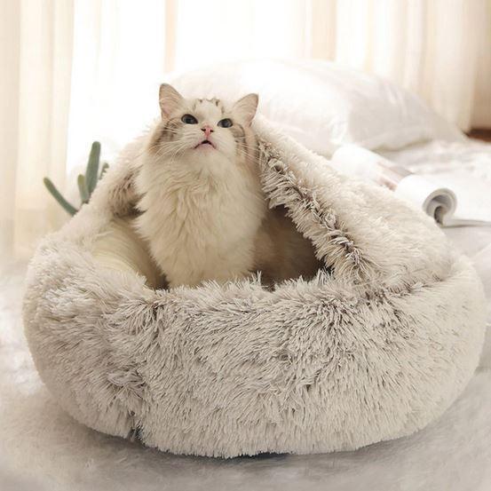 домик–лежанка для кошки