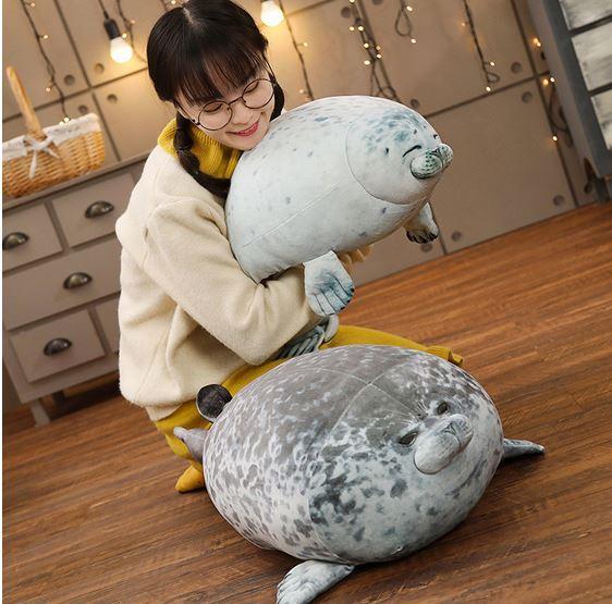 Подушка-тюлень