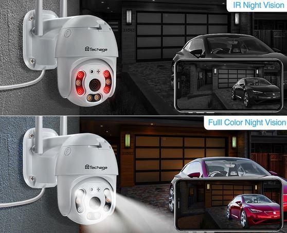 Поворотная IP-камера видеонаблюдения с Аллиэкспресс