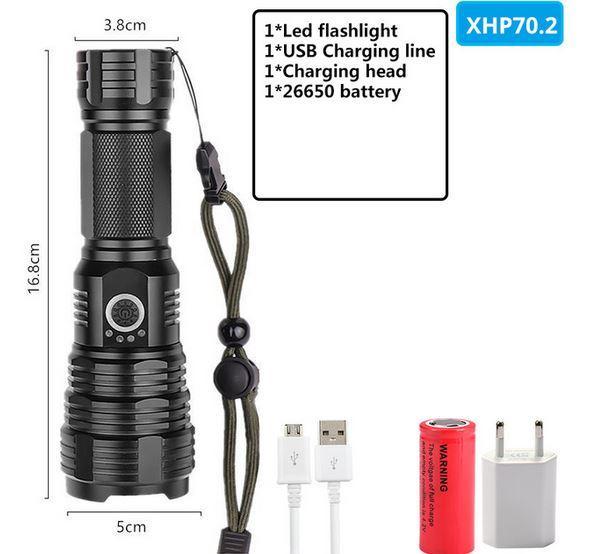 Водонепроницаемый фонарь XHP100