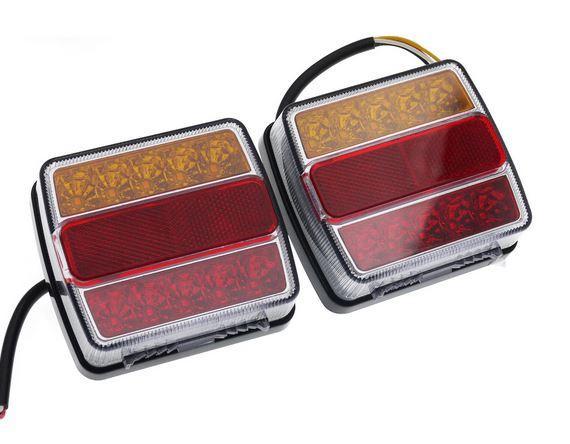 Набор осветительных приборов для прицепа