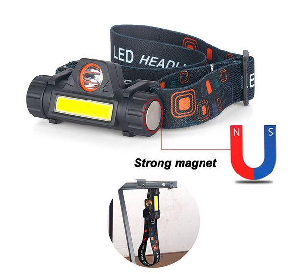 Налобный велосипедный фонарь с алиэкспресс XP-G Q5