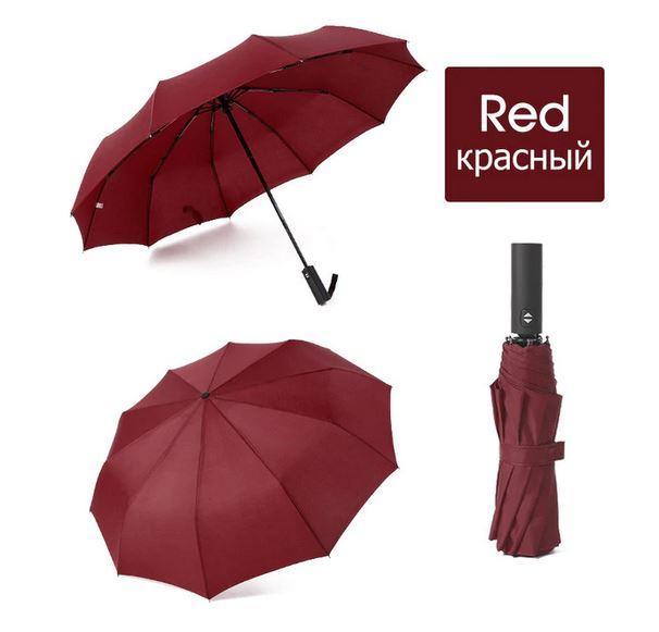 Ветрозащитный складной автоматический зонт