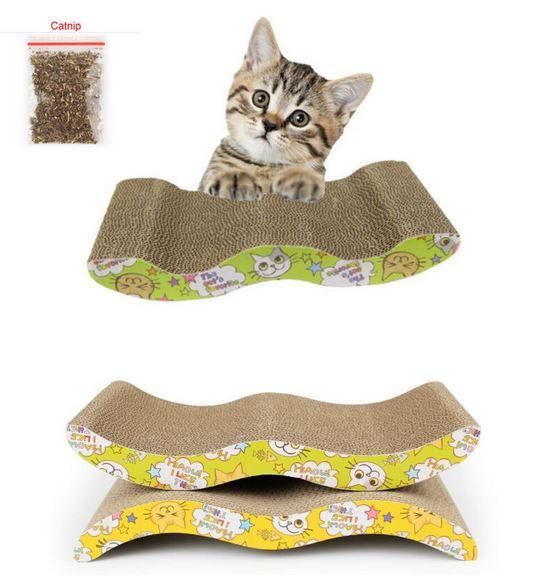 когтеточка WonderfullHouse Cat Scratch Board and Catnip