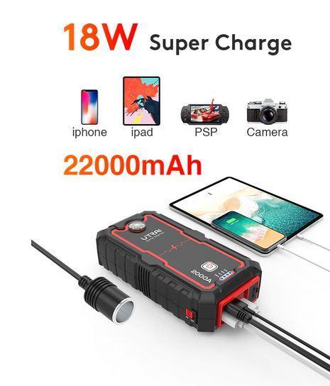 зарядное устройство аккумулятора в 22 000 мА часов