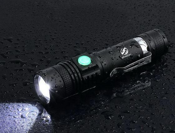 Светодиодный фонарик Shustar