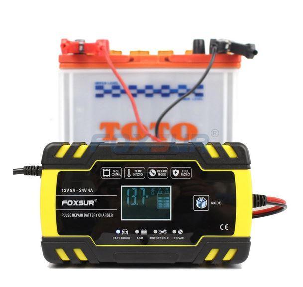 автоматическое зарядное устройство с Алиэкспресс