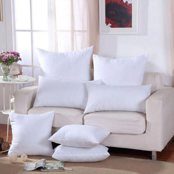 Классическая белая подушка