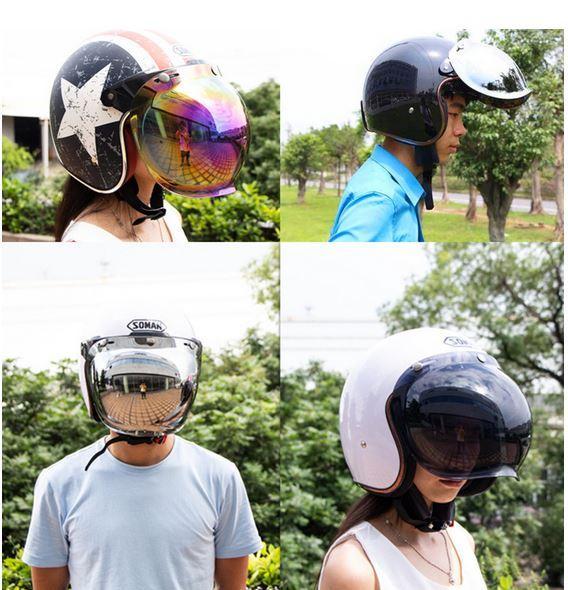 эффектный мотоциклетный шлем