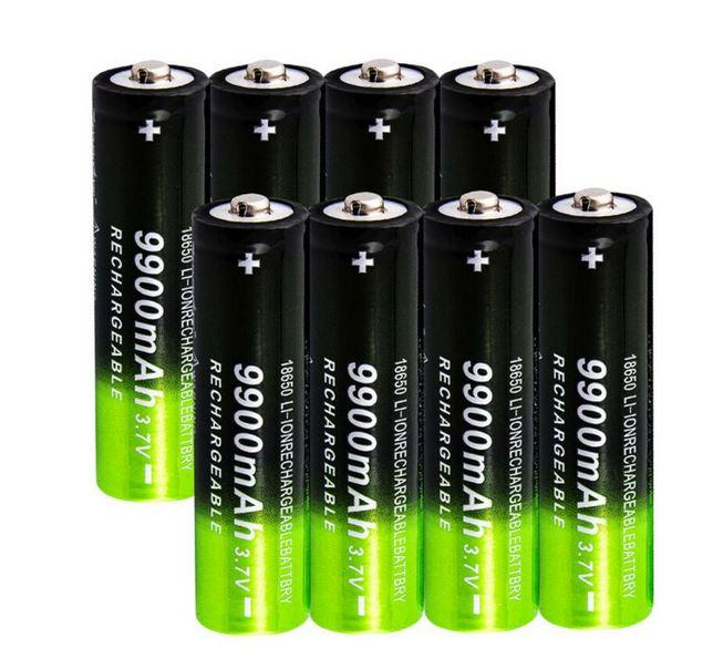 перезаряжаемая батарея с емкостью 9900 мАч