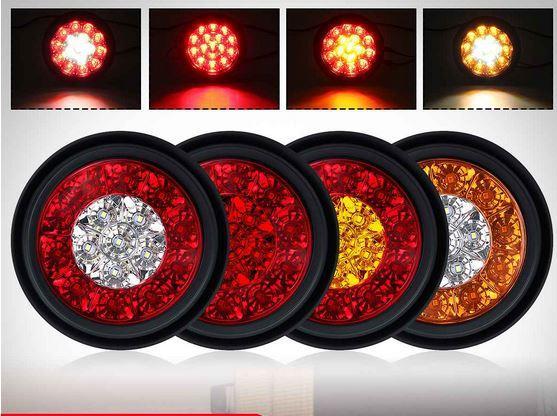 Светодиодные фонари круглой формы для автомобиля