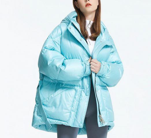 Женская зимняя куртка с алиэкспресс