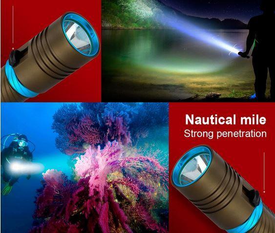 подводный фонарь на алиэкспресс
