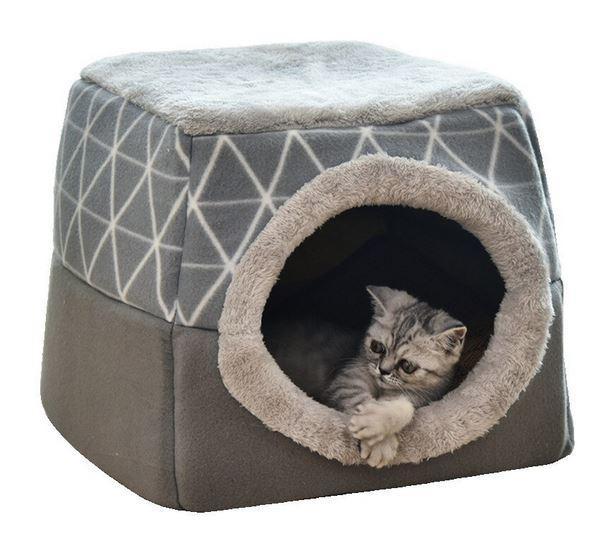 Складной домик для кошки с Алиэкспресс