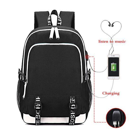 Многофункциональный рюкзак с USB-портом для зарядки SAC A DOC