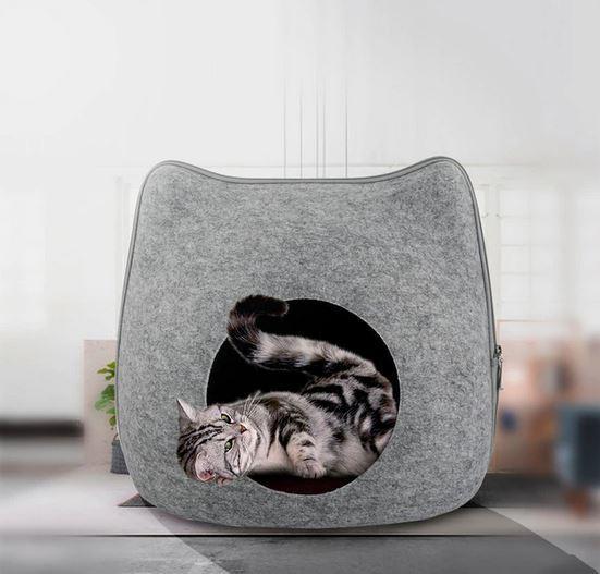 Складной домик для кошки