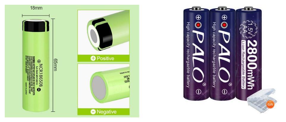 Какие батарейки для фонарика купить на Алиэкспресс