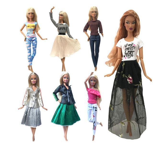 одежда для кукол с Алиэкспресс
