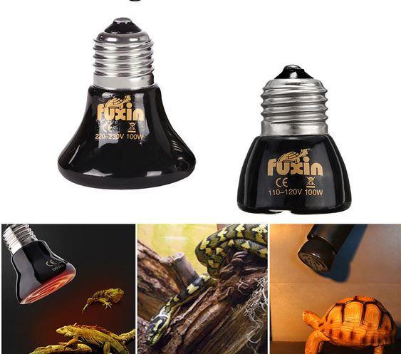 Керамическая лампа для обогрева животных