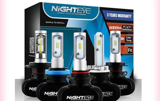 вариант светодиодной лампы Н4 на Алиэкспресс