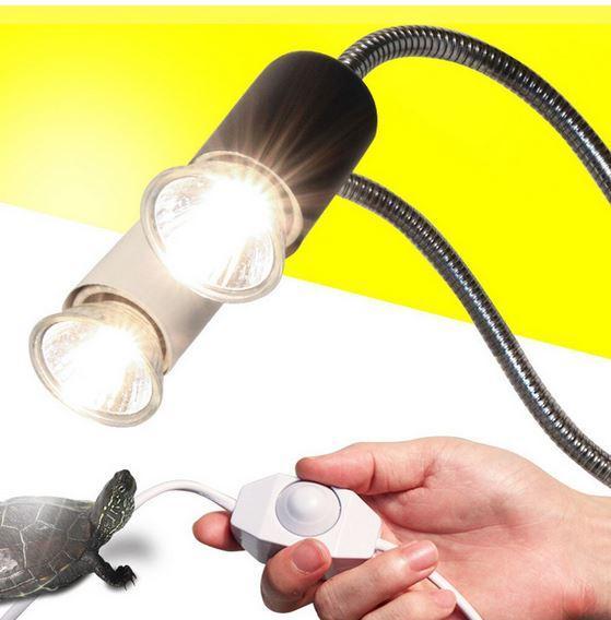 светильник на прищепке для рептилий