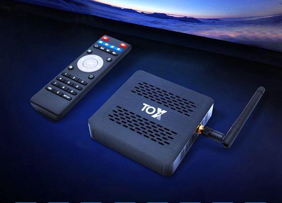 приставка TV Box Тох1