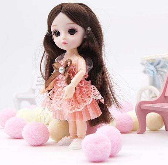 кукла в 16 см с Алиэкспресс