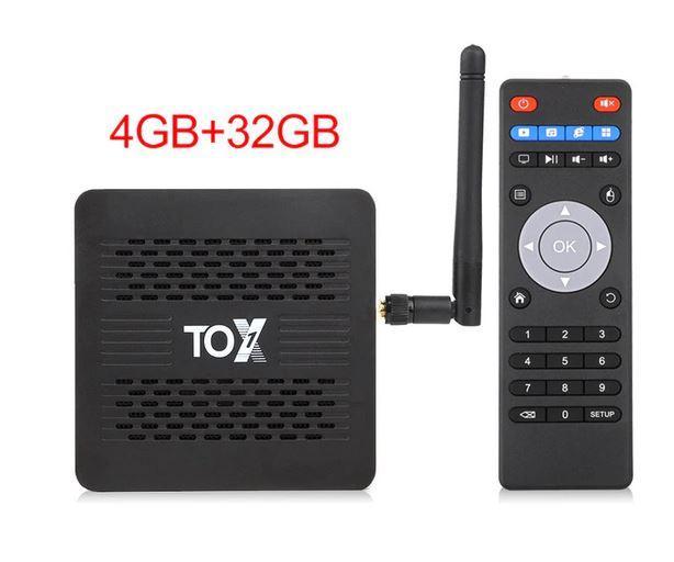 TOX1 Amlogic S905X3 - приставка на Андроид