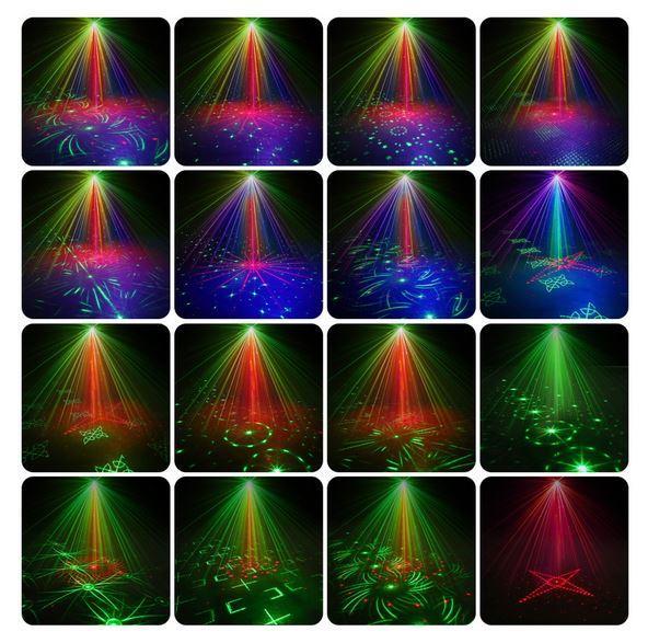 вариант диско лампы из Алиэкспресс